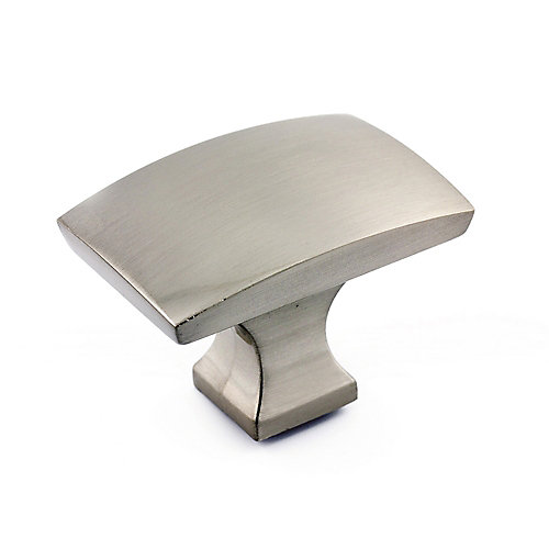 Transitional Metal Knob  Brushed Nickel - Rosemère Collection