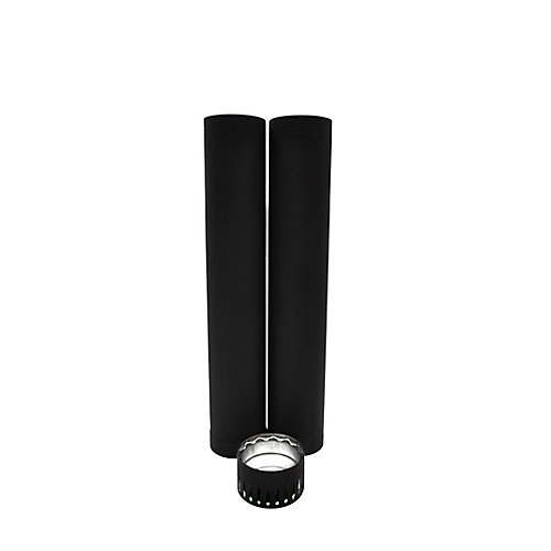 6 Inch  Double Wall Pipe Kit - To The Ceiling