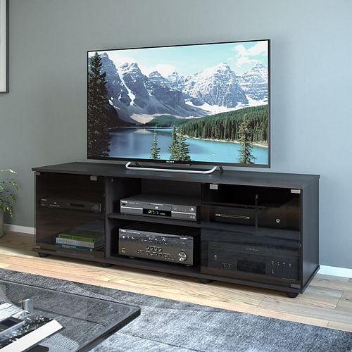 Fiji 60-inch x 15.75-inch x 19.75-inch TV Stand in Ravenwood Black