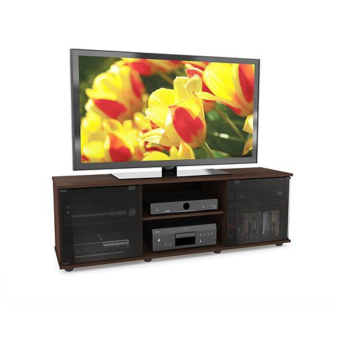 FB-2607 Fiji 60-inch TV / Component Bench in Urban Maple