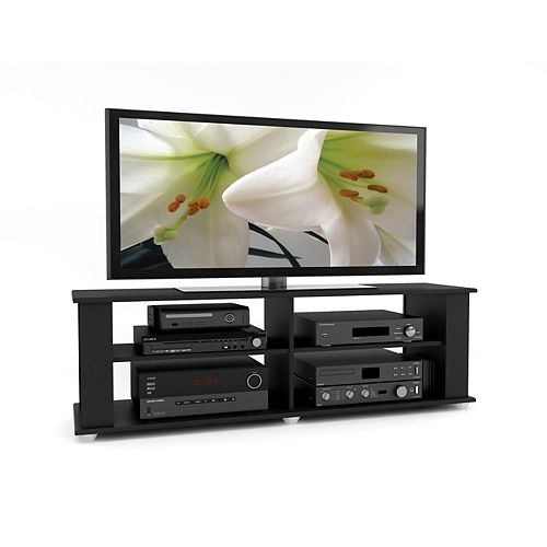 Fillmore 58-inch x 18-inch x 15-inch TV Stand in Black
