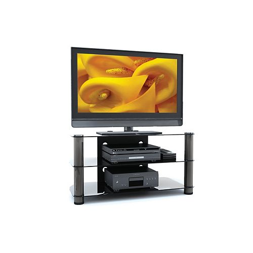 New York 42-inch x 21.25-inch x 18.5-inch TV Stand in Grey