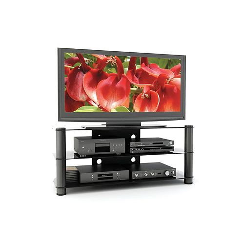 New York 50-inch x 21.25-inch x 18.5-inch TV Stand in Grey