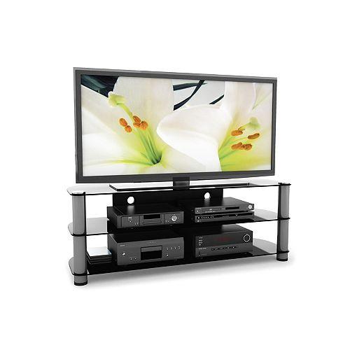 New York 58-inch x 21.5-inch x 18.5-inch TV Stand in Grey