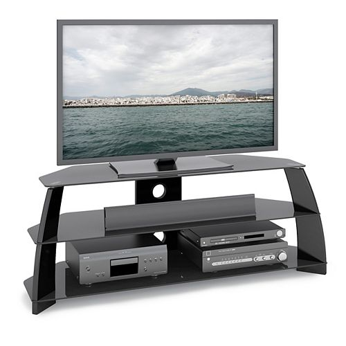 Taylor 54.25-inch x 19.75-inch x 17.75-inch TV Stand in Black