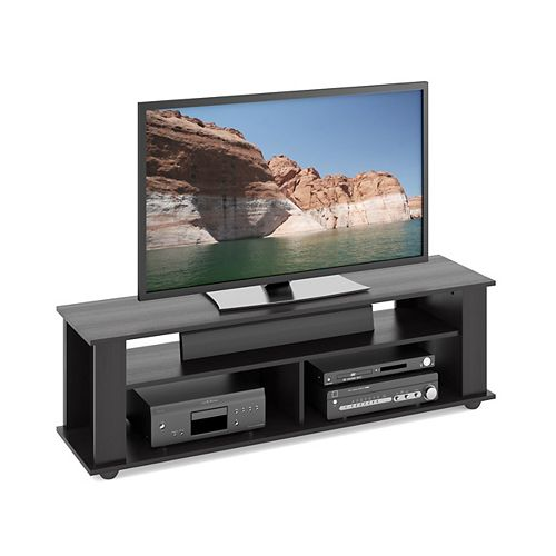 Bakersfield Ravenwood 58-inch x 18-inch x 15-inch TV Stand in Black