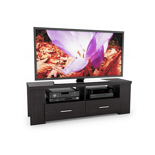 TBR-101-B TV Bench in Ravenwood Black, for TVs up to 70 inch