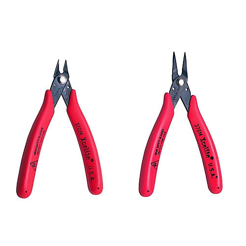 2-Piece Shear-Cutter Pliers Set 4 Inch