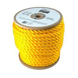 Corde Torsadée Jaune de 3/4 po x 150 pi en Polypropylène