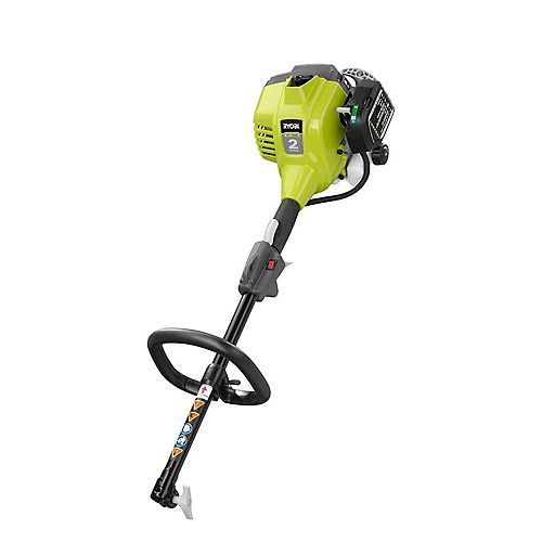 RYOBI 25cc Gas Powered Expand-It 2-Cycle Full Crank Gas Power Head