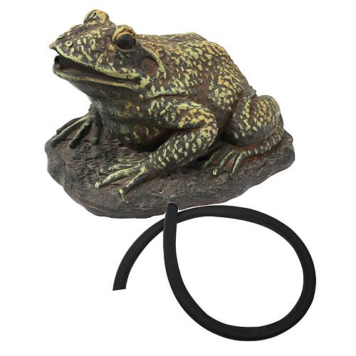 Angelo Décor Frog Spouting Statue