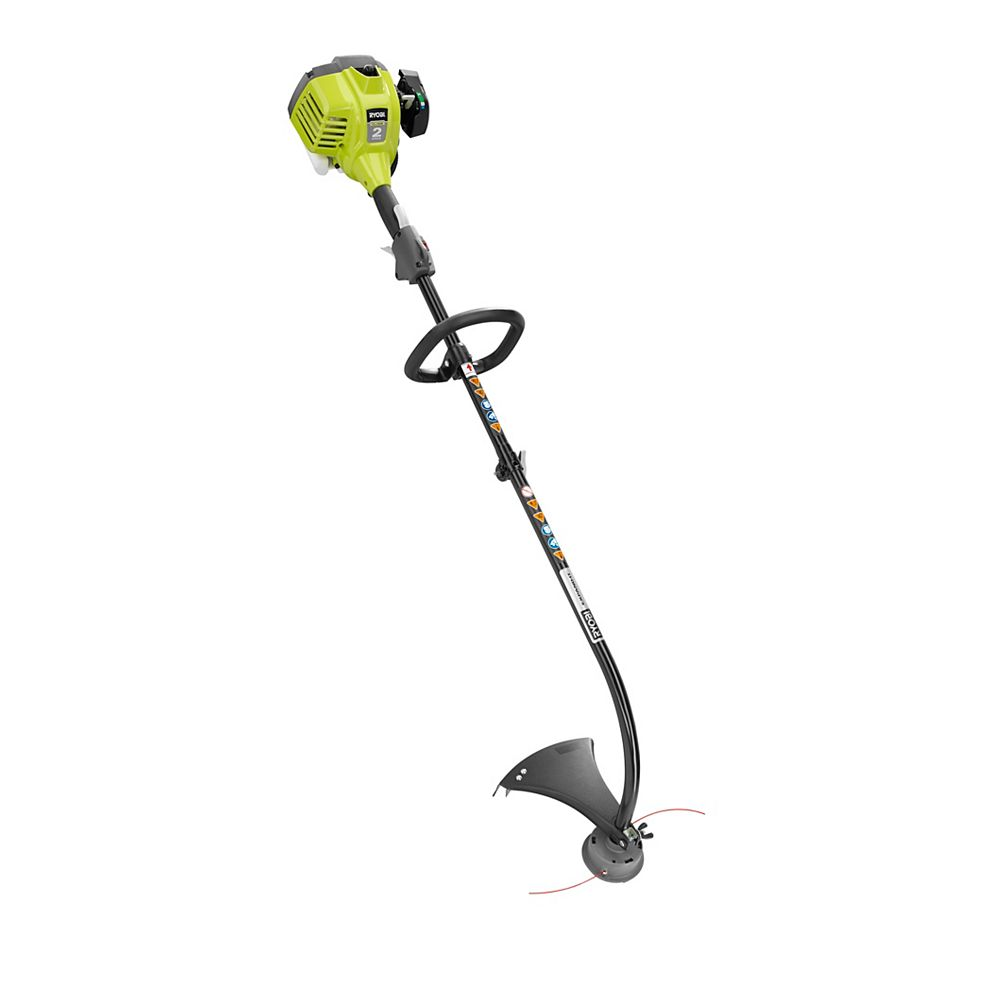 RYOBI 25cc Gas Powered 2-Cycle Curved Shaft Trimmer