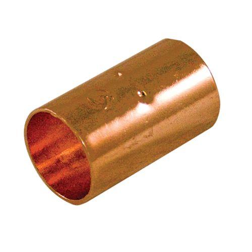 Aqua-Dynamic Raccord Cuivre Manchon 1/2 Pouce x Cuivre À Cuivre (Boîte de 25)