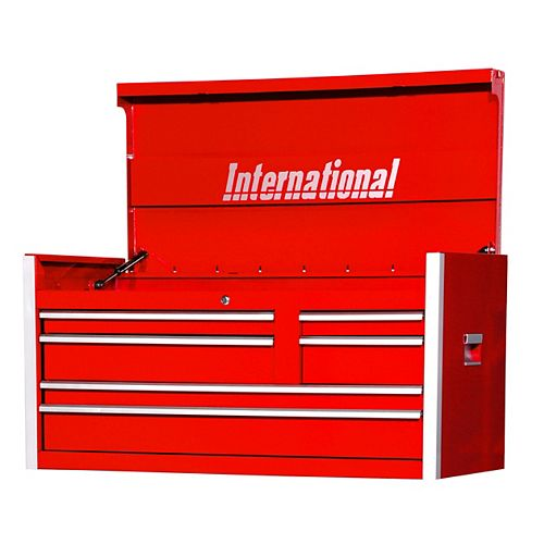 Professional Series 42-inch 6-Drawer Tool Storage Chest in Red