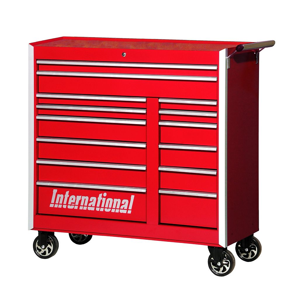 International Professional Series 42-inch 14-Drawer Roller ...