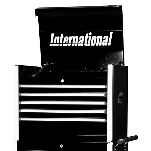 Professional Series 27-inch 5-Drawer Tool Storage Chest in Black