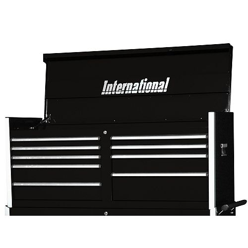 Professional Series 54-inch 9-Drawer Tool Storage Chest in Black