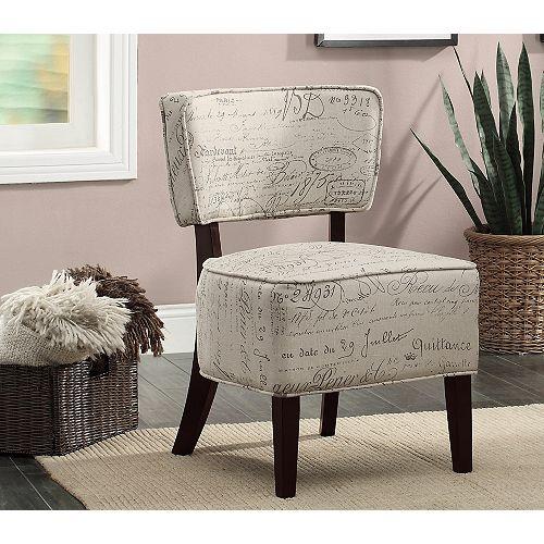 Alicia Accent Chair White