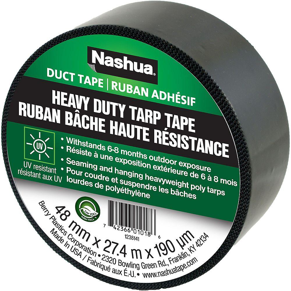 Nashua Tape 48mm x 27.4m Ruban Bâche Haute Résistance