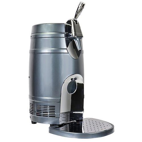 Baril à bière 5 litres, noir