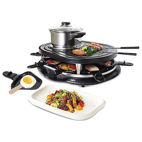 TCRF08BN  Raclette Fondue