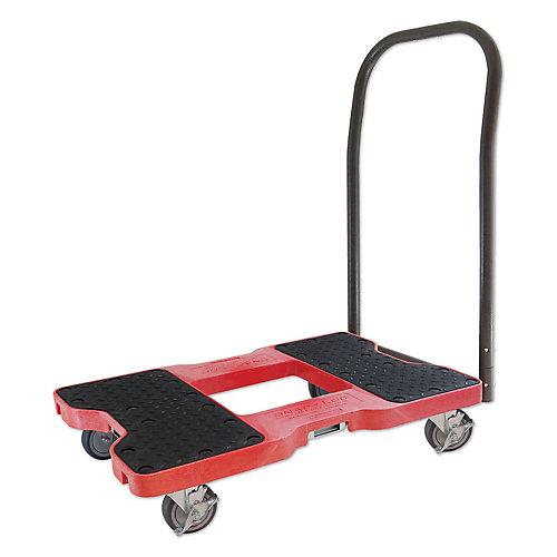 SNAP-LOC Push Cart Dolly, Red