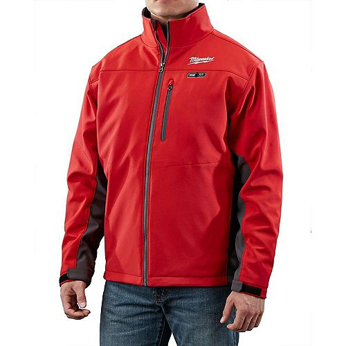 Milwaukee Tool M12 Cordless Red Heated Jacket Only - L