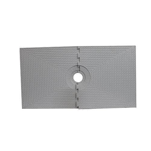 PAN SHOWER COMPONENT 32-inch X 60-inch CENTRE DRAIN