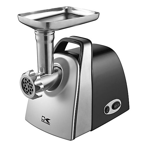 Electric Meat Grinder in Stainless Steel