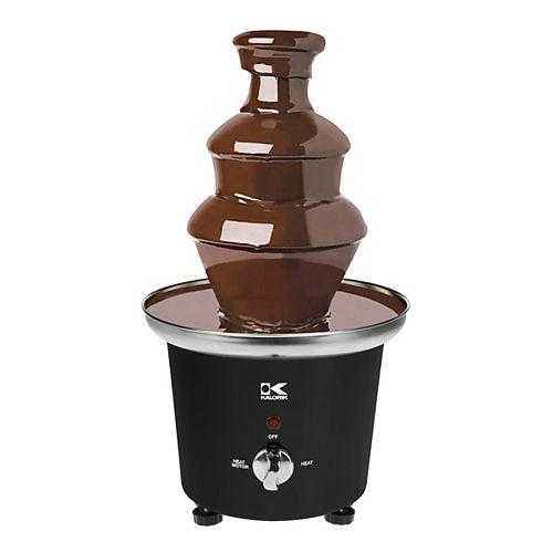 Fontaine à chocolat fondu noire