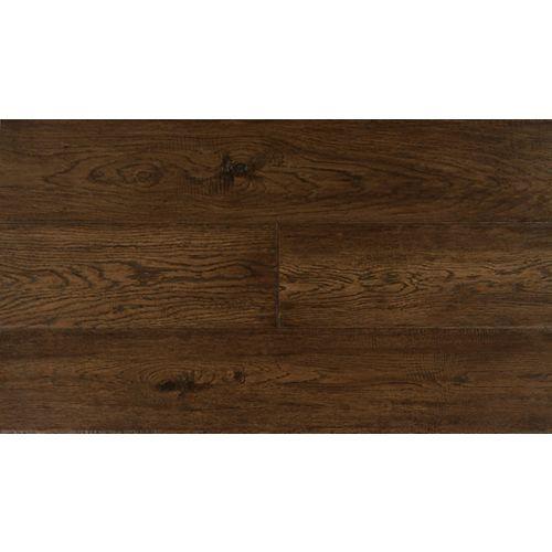 Burnt Umber Oak 6 1/2-inch W Engineered Hardwood Flooring (38.79 sq. ft. / case)
