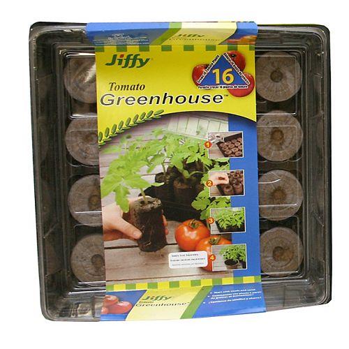 Jiffy Tomato & Vegetable Greenhouse 16
