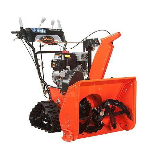 Compact 24 Track, « Pelle » à neige à essence à démarrage électrique et mécanisme à deux étages