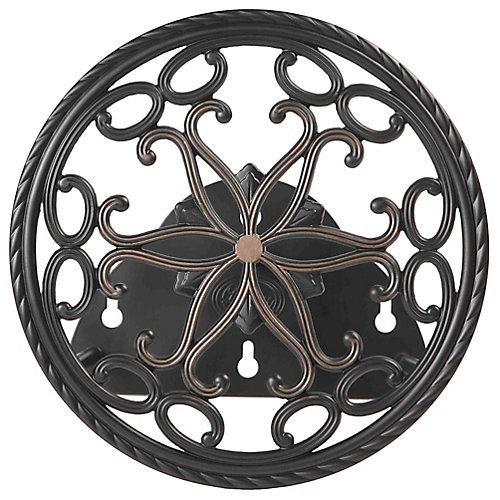 Support rond,décoratif, pour boyau