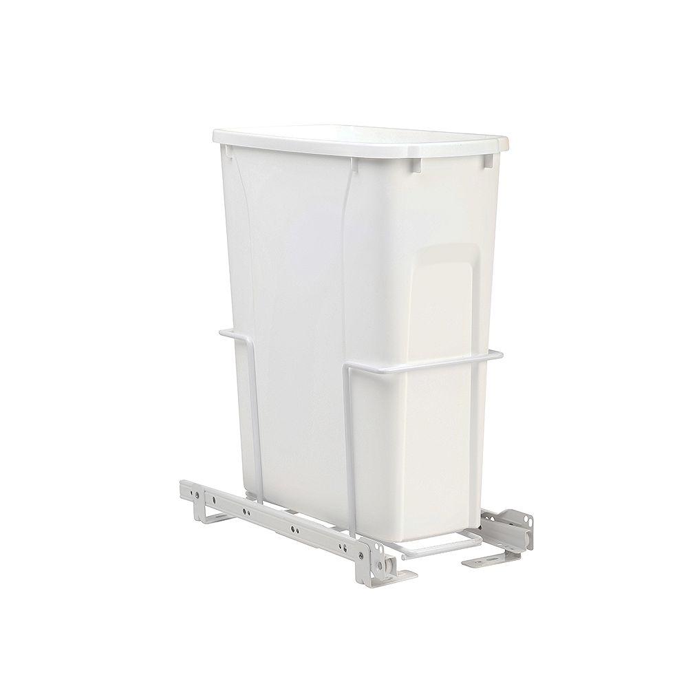 Real Solutions Poubelle coulissante de 19 litres