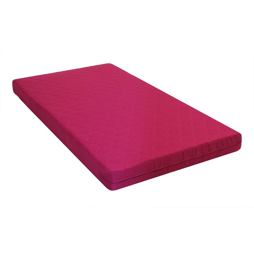 Dhp 6 Inch Twin Quilted Top Bunk Bed Mattress Pink The Home Depot Canada