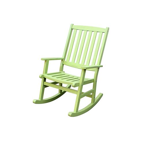 Outdoor Rocking Chair Limeade Finish