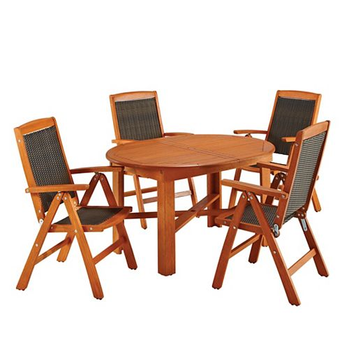 5-Piece Outdoor Patio Dining Set