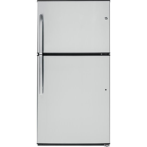 33-inch W 21.2 cu. ft. Top Freezer Refrigerator in Stainless Steel - ENERGY STAR®