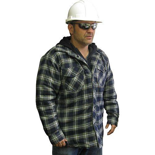 Chemise De Travail Matelassée Avec Capuchon Moyen