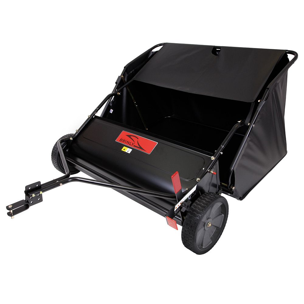 Brinly-Hardy 42 inches 6-Brush High-Speed Tow-Behind Lawn Sweeper
