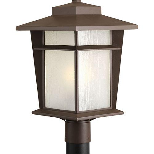 Progress Lighting Fluorescente de Lampadaire à 1 Lumière, Collection Loyal - fini Bronze à l'Ancienne