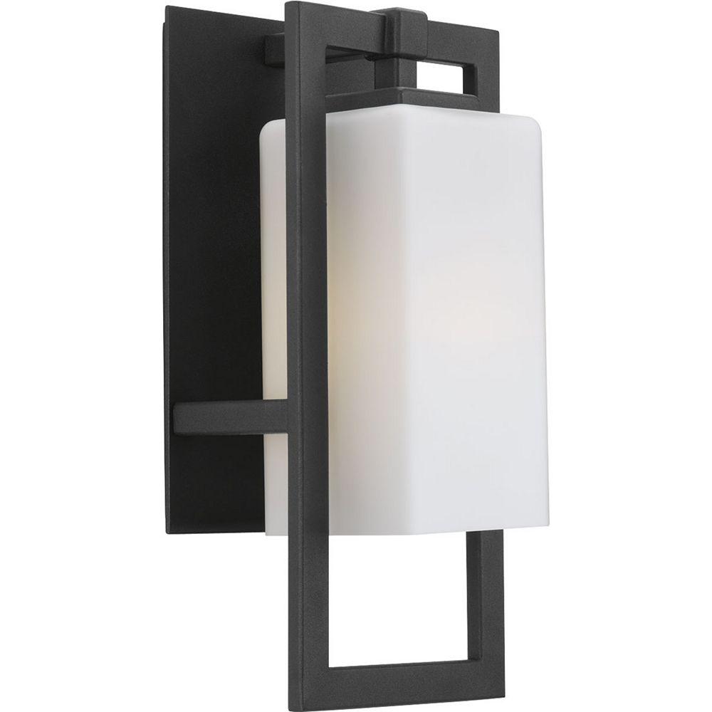 Progress Lighting Jack Collection 1-Light Black Wall Lantern