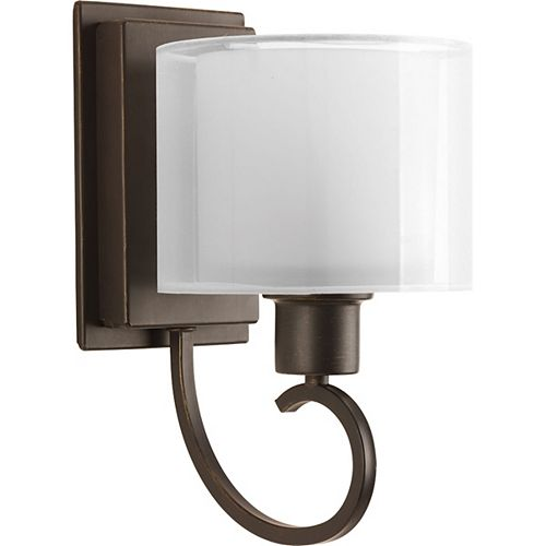 Progress Lighting Invite Collection 1-Light Antique Bronze Wall Bracket