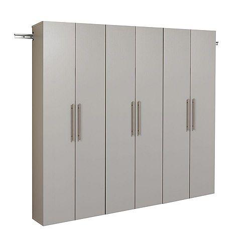 Armoire accrochable HangUps de 72po (183cm), ensemble C – 3pièces