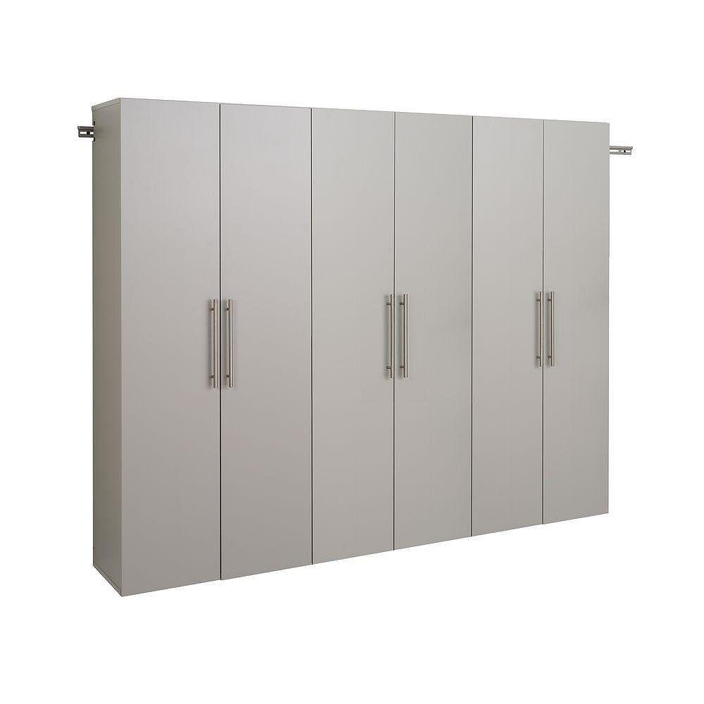 Prepac HangUps 90 Inch Storage Cabinet Set D - 3-Piece