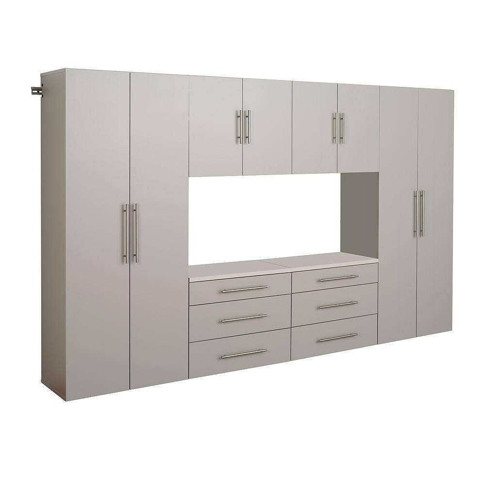 Prepac HangUps 120-inch Storage Cabinet Set (6-Piece)