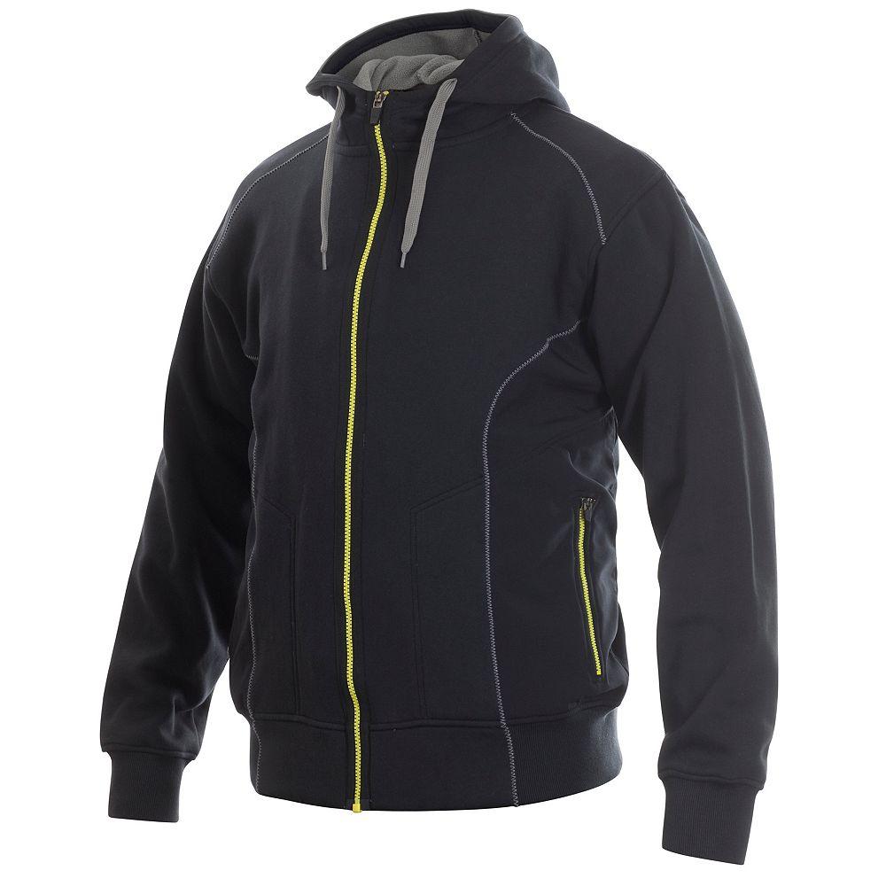 Projob Swedish Workwear Premium Quality Men's Hoodie - Black - L