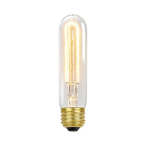 Ampoule style vintage à incandescence Radio Tube T10 Edison, culot moyen E26, 60 W