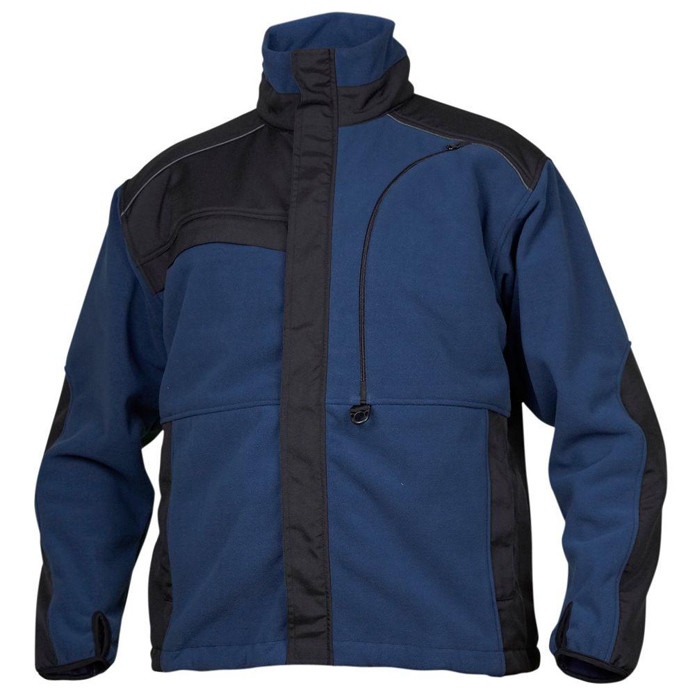Projob Swedish Workwear Water Repellent Functional Advanced Polar Fleece Jacket - Navy - M